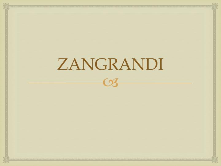 ZANGRANDI
