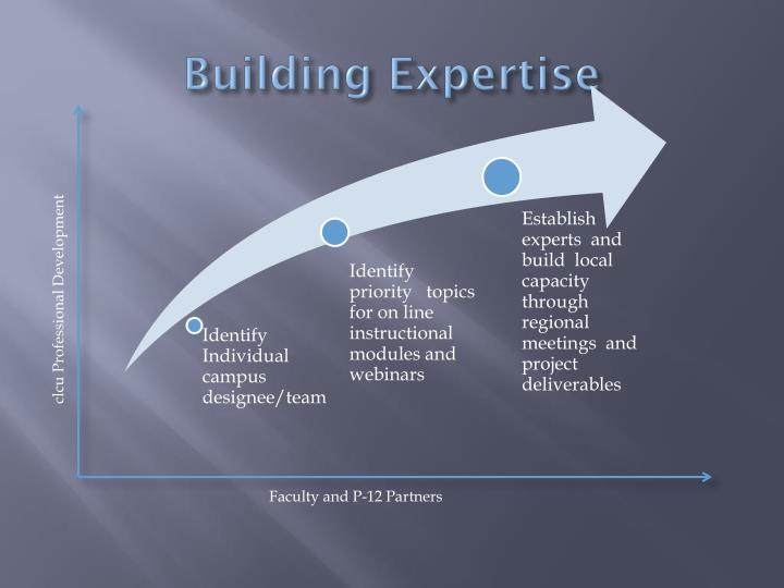 Building Expertise