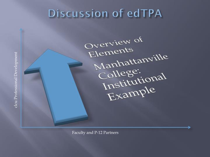 Discussion of edTPA