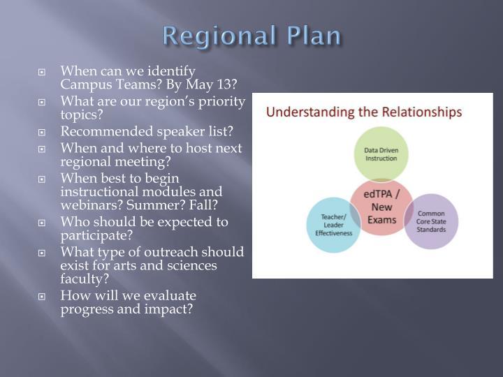 Regional Plan