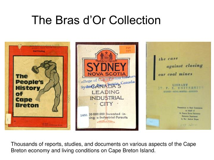 The bras d or collection