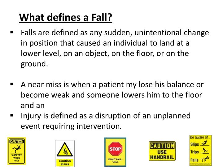 What defines a Fall?
