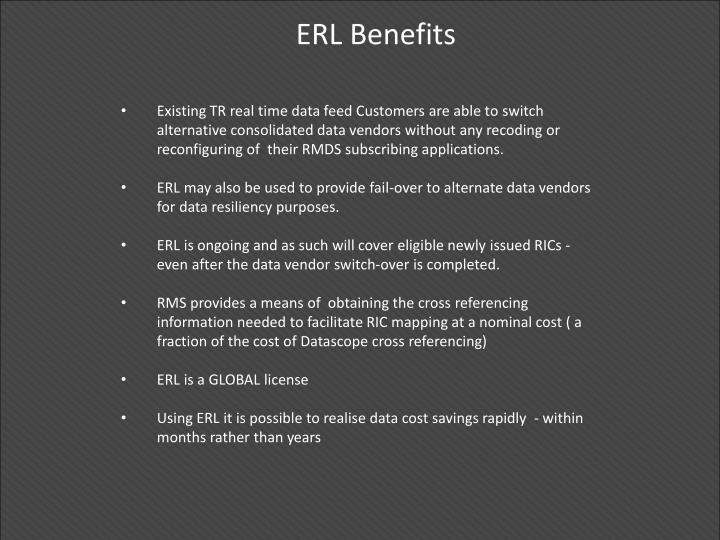 ERL Benefits