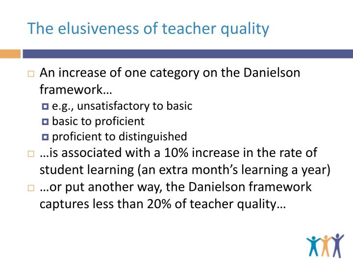 The elusiveness of teacher quality