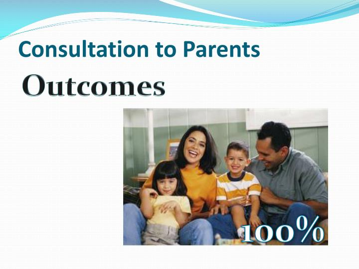 Consultation to Parents