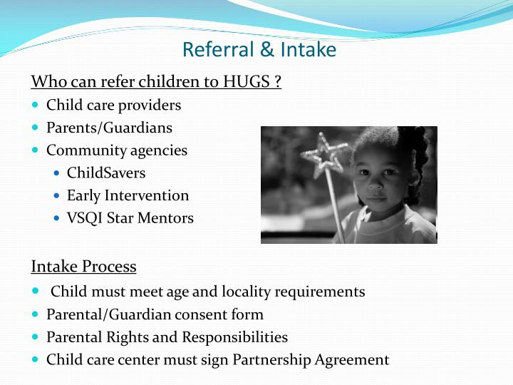 Referral & Intake