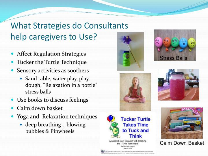 What Strategies do Consultants
