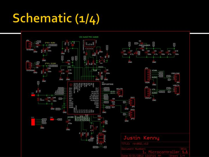 Schematic (1/4)