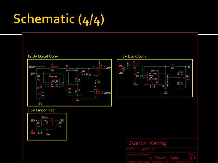 Schematic (4/4)