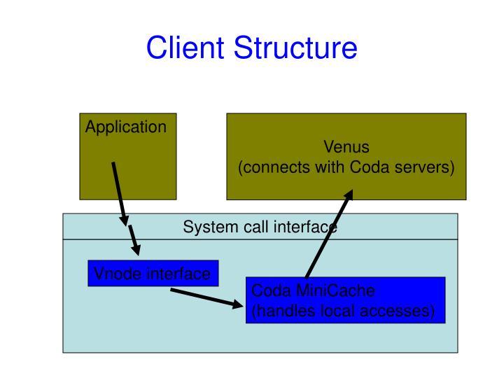 Client Structure