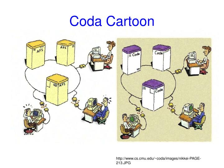 Coda Cartoon