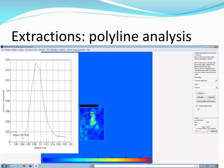 Extractions: polyline analysis