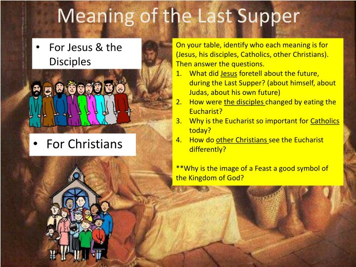 Meaning of the Last Supper
