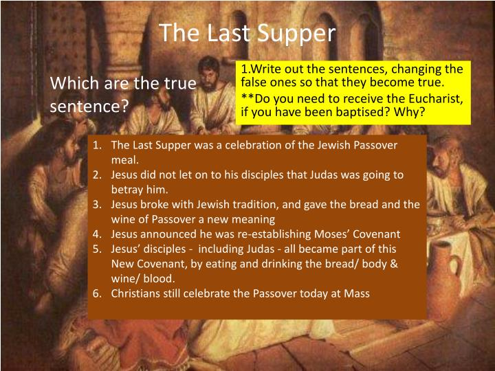 The last supper1