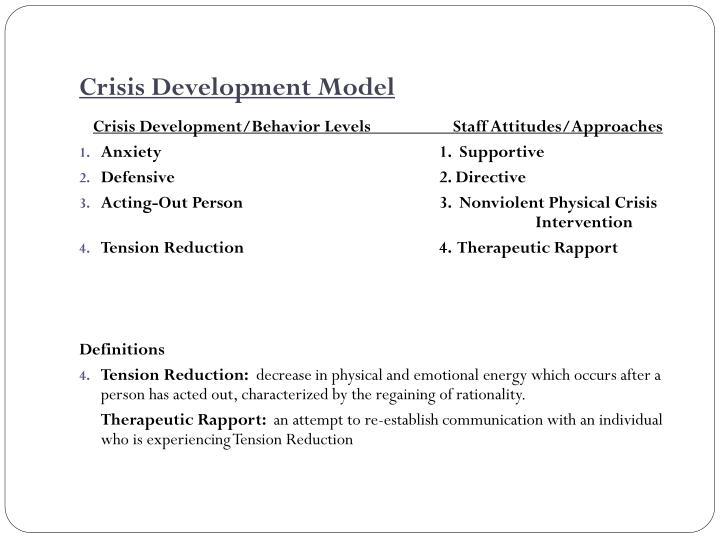 Crisis Development Model