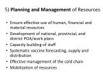 5 planning and management of resources