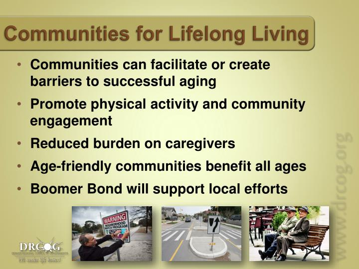 Communities for Lifelong Living