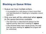 blocking on queue writes1