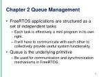 chapter 2 queue m anagement