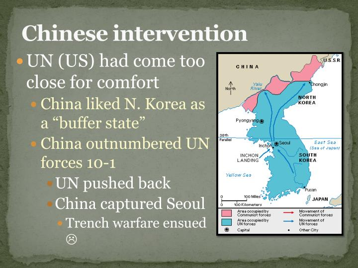 Chinese intervention