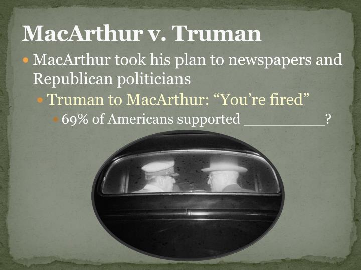 MacArthur v. Truman