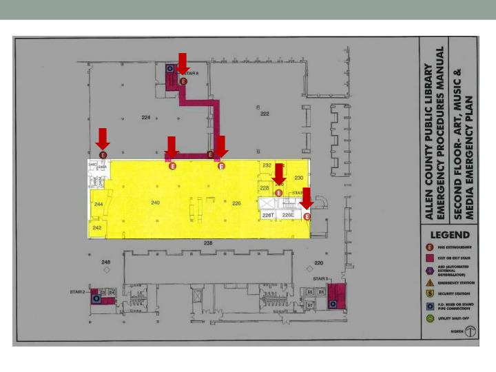 Building Evacuation: Maps