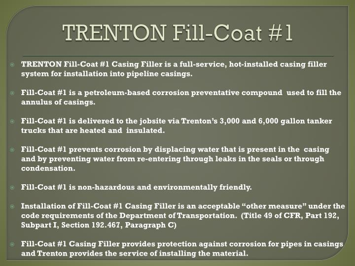 TRENTON Fill-Coat #1