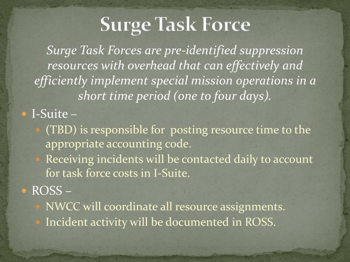 Surge Task Force