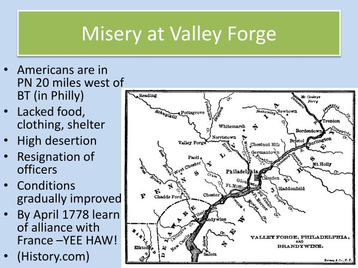 Misery at Valley Forge