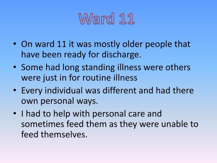 Ward 11