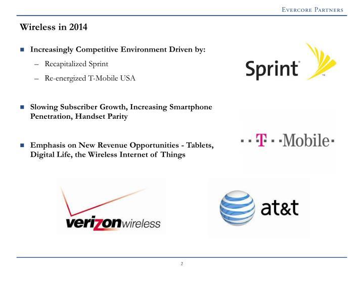 Wireless in 2014