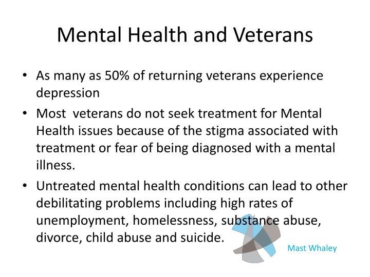 Mental Health and Veterans