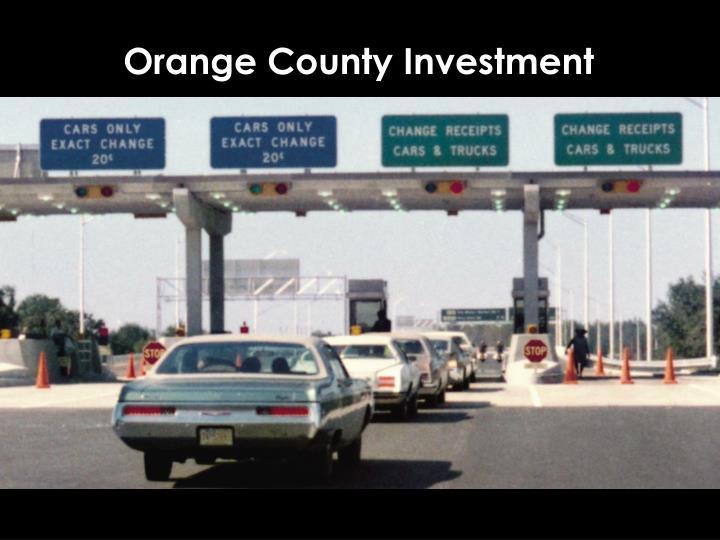 Orange County Investment