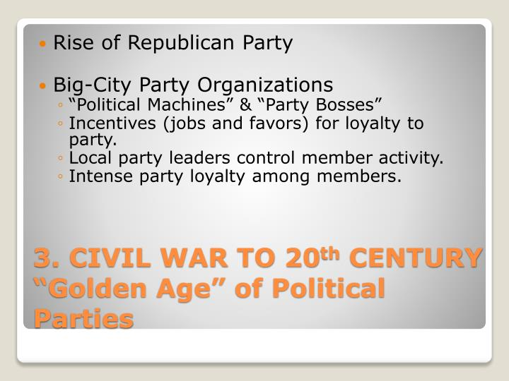 Rise of Republican Party