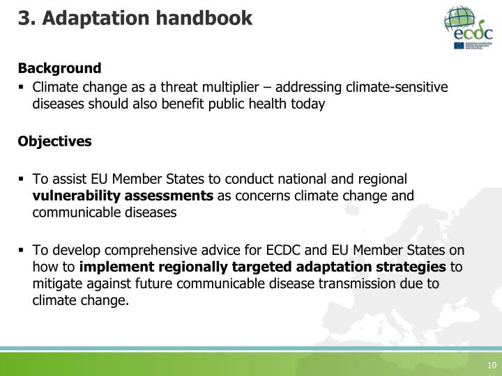 3. Adaptation handbook