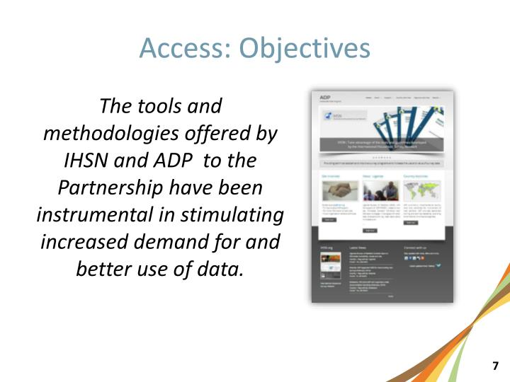 Access: Objectives