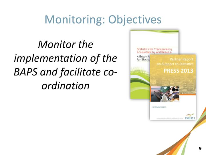 Monitoring: Objectives