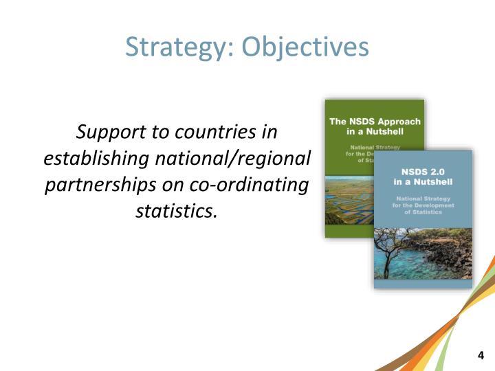 Strategy: Objectives