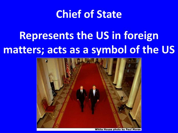 Chief of State