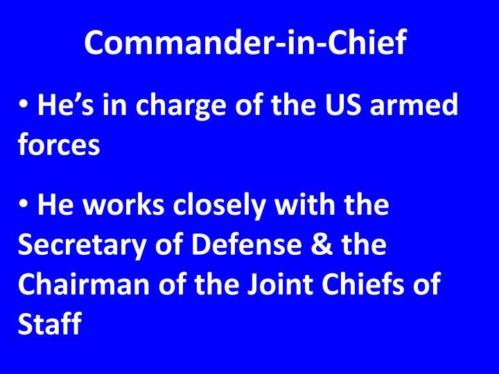 Commander-in-Chief