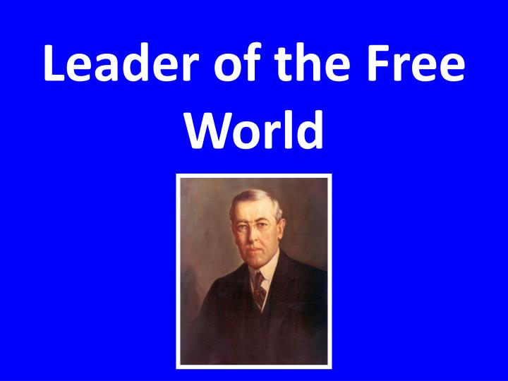 Leader of the Free World