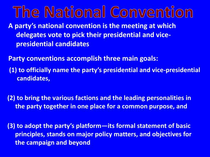 The National Convention