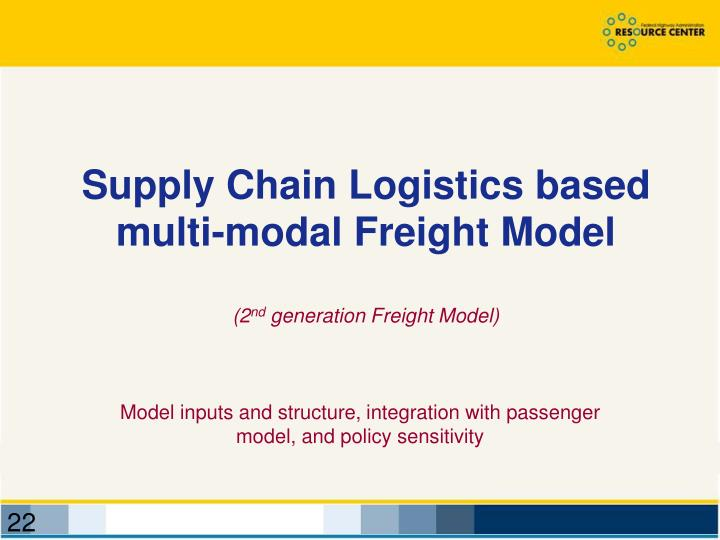 Supply Chain Logistics based
