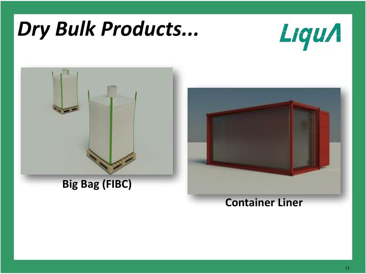 Dry Bulk Products...
