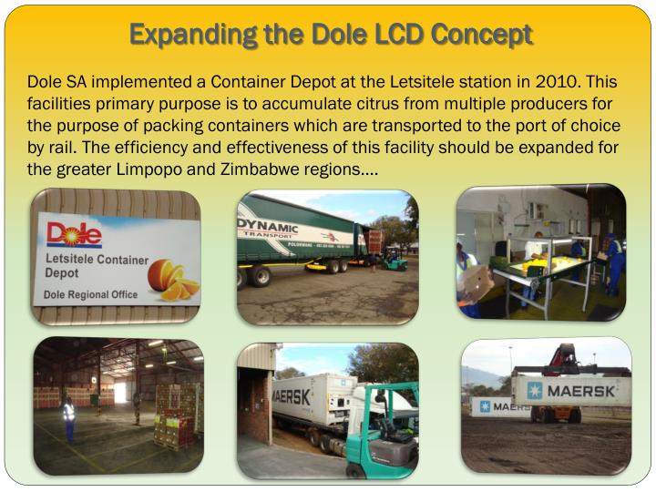 Expanding the Dole LCD Concept