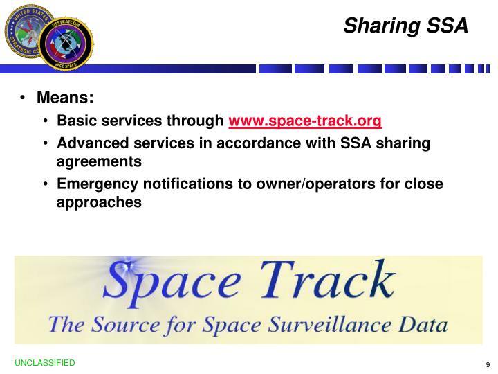 Sharing SSA