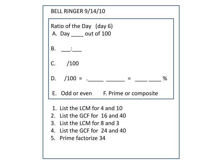 BELL RINGER 9/14/10