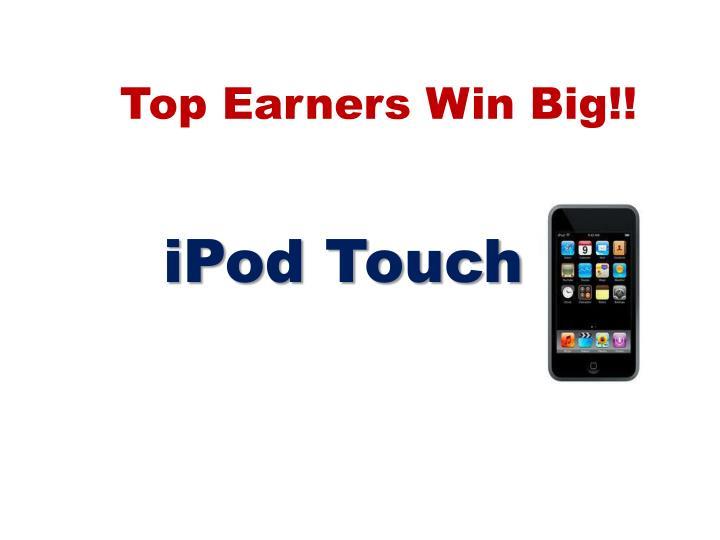 Top Earners Win Big!!