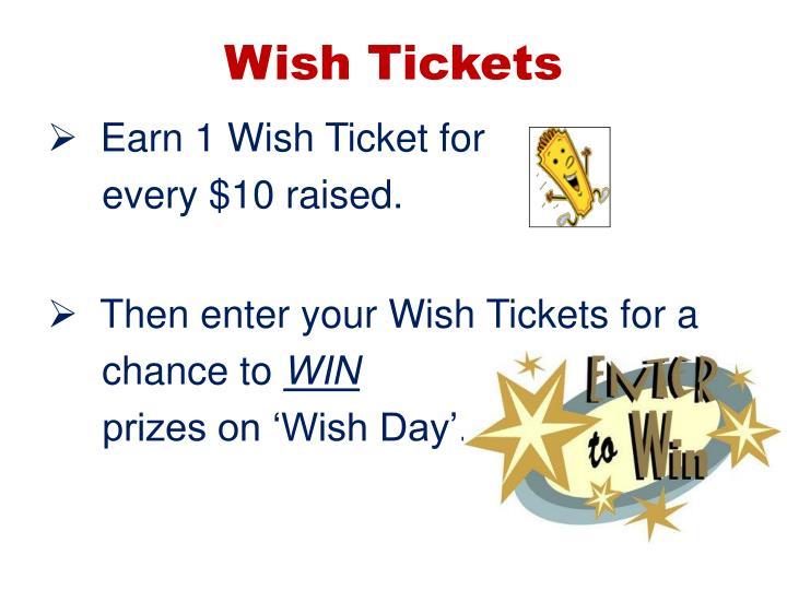 Wish Tickets