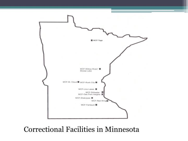 Correctional Facilities in Minnesota